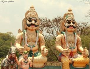 Temple in Melagiri range
