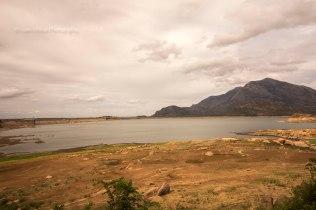 Backwaters of Aliyar Dam